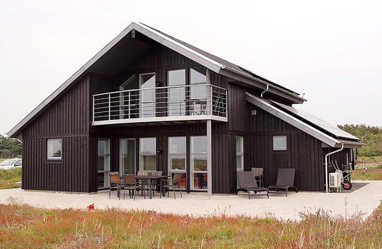 Arkitekttegnede træhuse